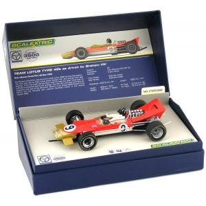 Scalextric Legends Team Lotus 49 No.9 Graham Hill