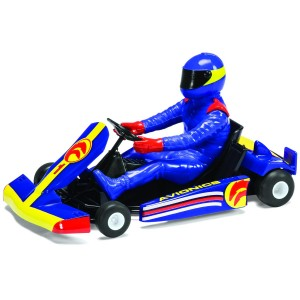 Scalextric Super Kart No.1 Blue