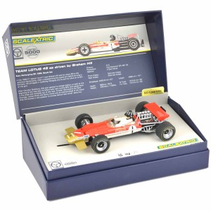 Scalextric Legends Team Lotus 49 Graham Hill