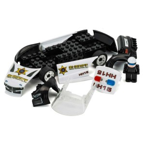 Scalextric QUICK BUILD Police Car