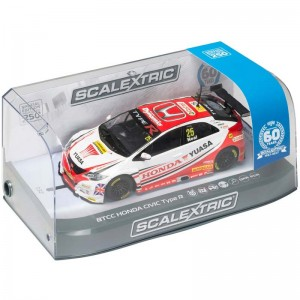 Scalextric BTCC Honda Civic Type R Matt Neal 60th