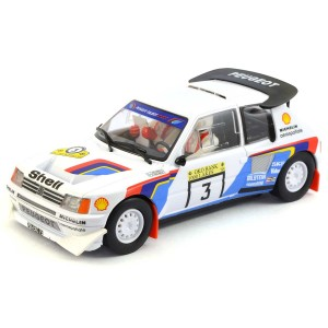 Scalextric Peugeot 205 T16 1000 Lakes Rally 1985
