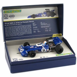 Scalextric Legends Tyrrell F1 No.9 Francois Cevert