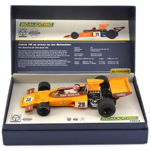 Scalextric Legends Lotus 72 Gunston 1974