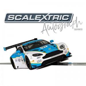 Scalextric Autograph Series Aston Martin Vantage GT3 Jonny Adam & Ahmad Al Harthy