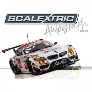 Scalextric Autograph Series BMW Z4 GT3 Lee Mowle