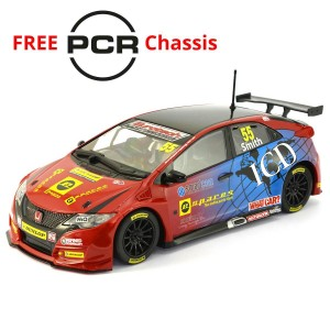 Scalextric BTCC Honda Civic Type R Jeff Smith