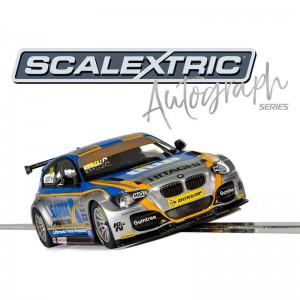Scalextric Autograph Series BTCC BMW 125 Series 1 Rob Collard