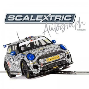 Scalextric Autograph Series BMW Mini Cooper F56 Luke Reade