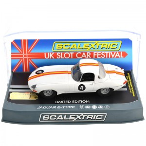 Scalextric Jaguar E-Type UKSCF Special Edition