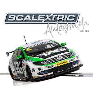 Scalextric Autograph Series BTCC VW Passat No.24 Jake Hill