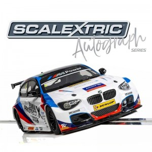 Scalextric Autograph Series BMW 125 Series 1 Colin Turkington