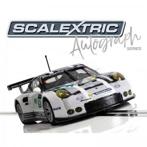 Scalextric Autograph Series Porsche 911 RSR No.91 Le Mans 2016
