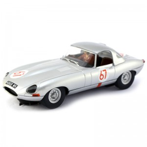 Scalextric Jaguar E-Type No.67 Nurburgring 1000KM 1963