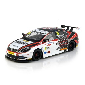 Scalextric VW Passat CC Team Hard BTCC 2018 - Bobby Thompson