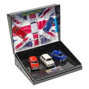 Scalextric Mini Diamond Edition - Commemorative Triple Pack