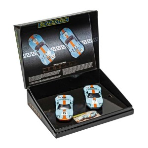 Scalextric Ford GT40 Le Mans 1969 Gulf Twin Pack