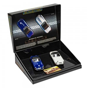 Scalextric Jaguar E-Type First Win 1961 Twin Pack