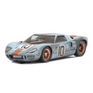 Scalextric Ford GT40 Gulf No.10 Weathered