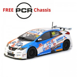 Scalextric Honda Civic Type R BTCC 2019 Sam Tordoff