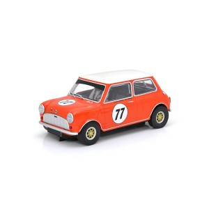 Scalextric Austin Mini Cooper S No.77 Andrew & Mike Jordan