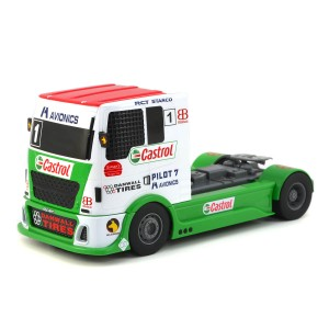 Scalextric Team Racing Truck Castrol