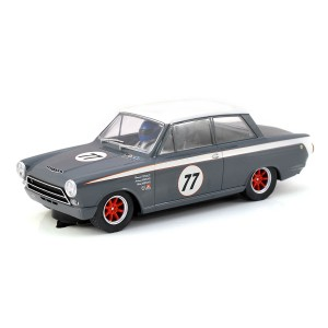 Scalextric Ford Lotus Cortina No.77 JRT Howard Donald / Andrew Jordan