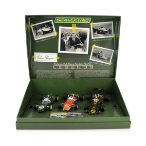 Scalextric The Genius of Colin Chapman - Lotus GP Triple Pack