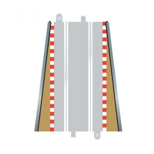 Scalextric Lead in / Lead Out Borders x2 C8233