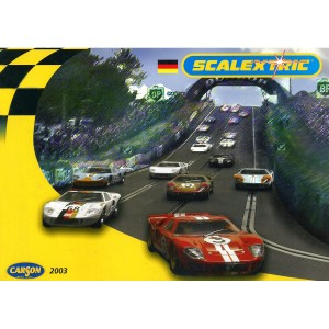 Scalextric Catalogue Edition 44 2003 German