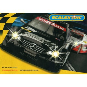 Scalextric Catalogue Edition 44 2003 Update