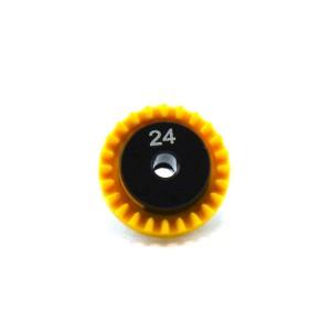 0132 Inline Crown Gear 3/32 24t
