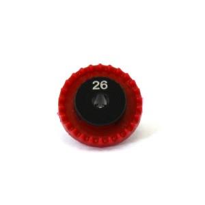 0132 Inline Crown Gear 3/32 26t