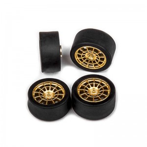 Cartrix Wheels & Tyres OZ-GT 12R Gold x4
