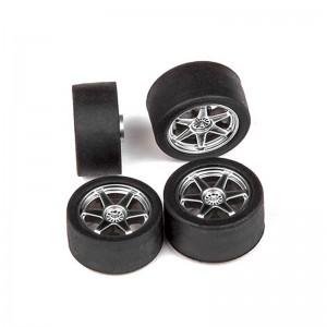 Cartrix Wheels & Tyres OZ-GT 6R Chrome x4