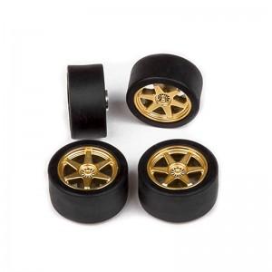 Cartrix Wheels & Tyres OZ-GT 6R Gold x4