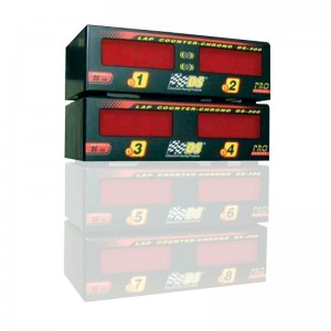 DS-300 PRO Lap Counter for Lanes 1 to 4