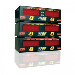 DS-300 PRO Lap Counter for Lanes 1 to 6