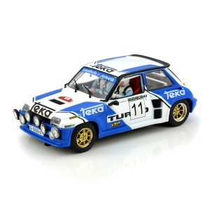 Slotwings Renault 5 Turbo No.11 Rally Villa de Llanes 1983