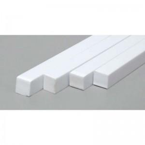 "Evergreen Plastic Square Solid Strip 0.188"" x 188"""