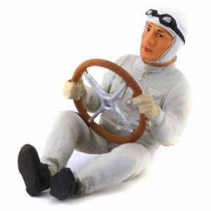 Le Mans Miniatures Driver Figure 1930/50 Painted