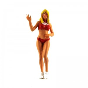Le Mans Miniatures Deborah Hawaiian Tropic Girl