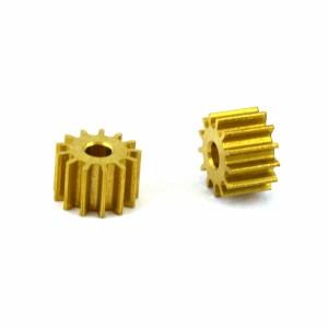 Formula Slot Sidewinder Brass Pinion 13t