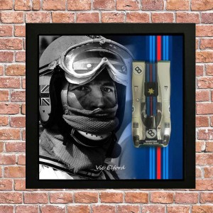 Slotwings Porsche 917K Team Martini Framed Edition