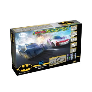 Micro Scalextric Batman vs Joker Set Battery Powered Set