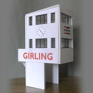 GP Miniatures Goodwood Control Tower