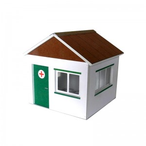 GP Miniatures First Aid Hut