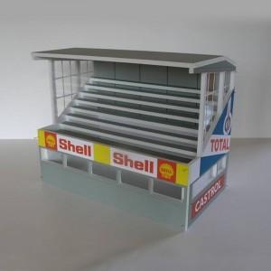 GP Miniatures Reims Grandstand