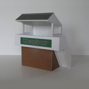 GP Miniatures Track Marshals Hut