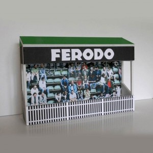 GP Miniatures Goodwood Grandstand Low Relief